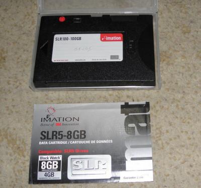 imation SLR100-100GB, Data Cartridge foto