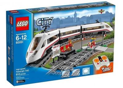 Tren de pasageri de mare viteza foto
