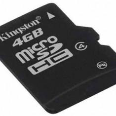 MicroSDHC 4GB (Class 4) + adaptor SD KINGSTON