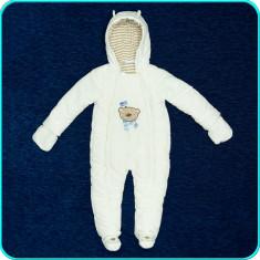 Combinezon—salopeta de iarna, BABIES R US → copii | 12—18 luni | 86 cm, Marime: Alta, Culoare: Alb, Unisex