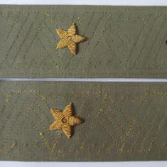 Epoleti pentru camasa General-Maior armata rosie URSS din anii 80