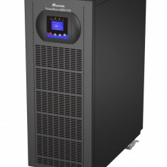 UPS Mustek 6000VA/ 5400W; PowerMust 6054 online LCD - display LCD; terminal block; incarcare 5 ore; acumulator 12V/ 7Ah x 20pcs; back-up 120W la...