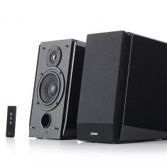 BOXE 2.0, RMS: 70W (35W x 2), volum, bass, treble, telecomanda WIRELESS, dual RCA, EDIFIER