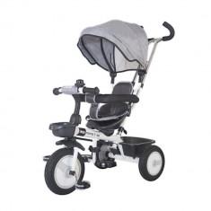 Tricicleta multifunctionala MamaLove Rider Gri - Tricicleta copii