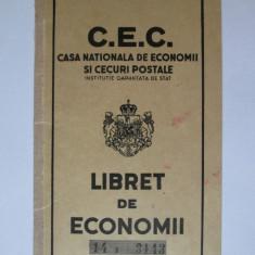CEC/Libret de economii Caracal perioada regalista 1945