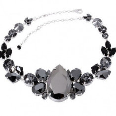 Black Magnificent cu cristale swarovski - Colier Swarovski