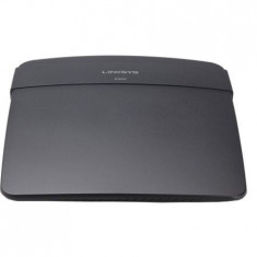 Router Wireless Linksys E900, 1WAN 10/100, 4xLAN 10/100, 2 antene interne, N300