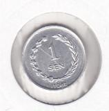 Bnk mnd Irian Barat ( Indonezia ) 1 sen 1962, Asia, Aluminiu