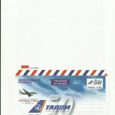 Romania Aerograma Aeromfila Tarom Aviatie 2004 - rar