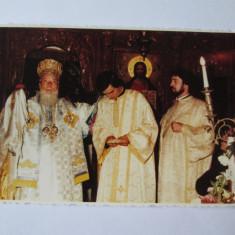 Foto 138 x 88 mm din anii 90 cu PF Teoctist,Patriarhul Bisericii Ortodoxe '86-07