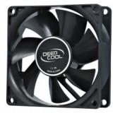Cooler DeepCool Fan for Case, Hydro Bearing, dimensiuni 80x80x25 mm, Fan Speed 1800 RPM, Max. Air Flow 21.8 CFM, zgomot 20 dB(A), ''Xfan 80''