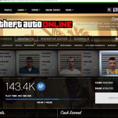 Cont Grand Theft Auto V Social Club ( GTA5 ) - GTA 5 PC Rockstar Games