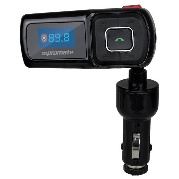 Modulator FM cu Bluetooth Handsfree CarKit, PROMATE carMate.5 foto mare