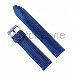 Curea ceas din cauciuc albastru 22mm WZ1030 - Curea ceas cauciuc