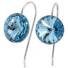 Cercei cristale swarovski clear Rivoli r 12 Wire - Cercei Swarovski