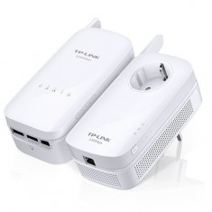 Kit Adaptor + Amplificator Powerline. AV1200 Gigabit AC, TP-LINK