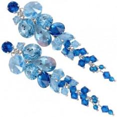 Cercei cu cristale swarovski - Cercei Swarovski