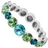 Elastic Rivoli r 8-10-12 so Bracelet verde