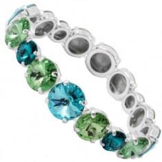 Elastic Rivoli r 8-10-12 so Bracelet verde - Bratara Swarovski
