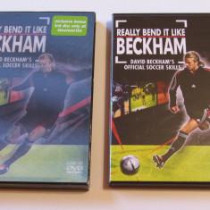 Lot 3 DVD-uri fotbal de colectie - DAVID BECKHAM - DVD fotbal
