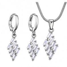 Set bijuterii romb