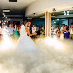 Fum greu nunta - Decoratiuni nunta