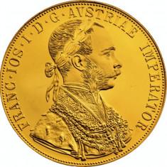 Moneda din aur 24 k 4 ducati, Europa