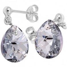 Cercei cu cristale swarovski Mini Pear 12 BallPin - Cercei Swarovski