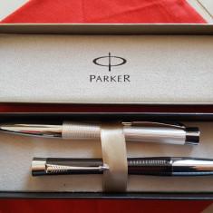 Pix, PARKER Urban Premium Ebony Metal Chiselled CT