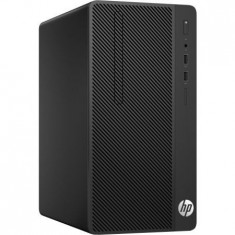 Desktop HP 290 G1 Microtower, Intel Core i7-7700 Quad Core (3.6 GHz, up to 4.2GHz, 8MB), video integrat Intel HD Graphics, RAM 8GB DDR4 2400MHz... - Sisteme desktop fara monitor