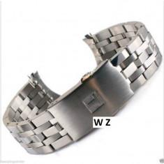 Bratara Ceas TISSOT PRC200 Argintie 19mm Capete Curbate WZ1486 - Curea ceas din metal