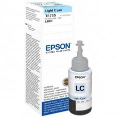 Cartus cerneala Original Epson Cyan T6735 compatibil L800
