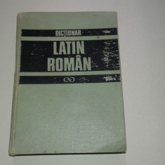 GH.GUTU - DICTIONAR LATIN-ROMAN