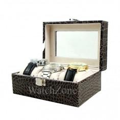 Caseta pentru depozitare ceasurilor cu 3 spatii Premium - Cutie Ceas