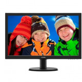 MONITOR PHILIPS 23.6 LED, 1920x1080, 8ms, 250cd/mp, vga+dvi, 243VQ5HSBA/00 (include timbru verde 3 lei)