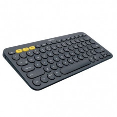 TASTATURA Bluetooth Logitech K380 Multi Device- INTNL - US International layout - gri