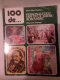 DD- 100 de PERSONALITATI DIN EVUL MEDIU ROMANESC Marin Matei Popescu