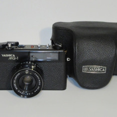Yashica MG-1 - Rangefinder Made in Japan- 45mm F 2.8 -Transp gratuit prin posta!
