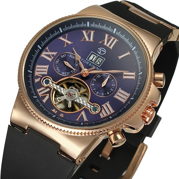 Ceas automatic Forsing Tourbillon For1015 foto mare