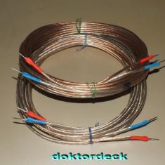 set de cabluri pentru boxe  2* 5 M