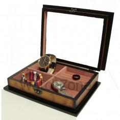 Caseta bijuterii din lemn - Rose - Cutie Bijuterii