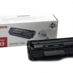 Toner Original pentru Canon Negru CRG-703, compatibil LBP2900/3000, 2000pag