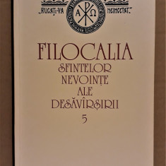 FILOCALIA VOL. 5 - SF. PETRU DAMASCHIN, SF. SIMEON METAFRASTUL [2001] - Carti ortodoxe
