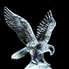 PASARE VULTUR DIN STICLA DECOR DEOSEBIT - Figurina/statueta