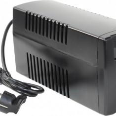 UPS Cyber Power 600VA/ 300W; Value Soho 600ELCD Green Power - 2 prize schuko; incarcare 8h; acumulator 12V/ 7Ah; LCD; AVR; back-up 50% la 9', 100%...