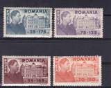 ROMANIA  1945  LP 166   FUNDATIA  CAROL SERIE   MNH, Nestampilat