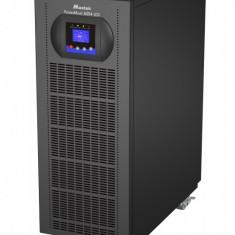 UPS Mustek 10000VA/ 9000W; PowerMust 10900 online LCD - display LCD; terminal block; incarcare 8 ore; acumulator 12V/ 9Ah x 20pcs; back-up 120W la...