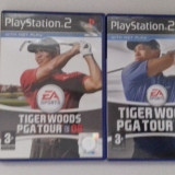 LOT 2 jocuri: Tiger Woods  PGA Tour 07 08 - PS2 [Second hand]
