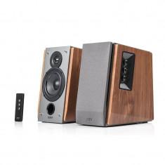 BOXE 2.0, RMS: 60W (13W x 2, 17W x 2), volum, bass, treble, telecomanda wireless, dual RCA, EDIFIER