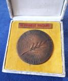 Medalie Comitetul de cultura si educatie socialista - PCR - RSR - 1975